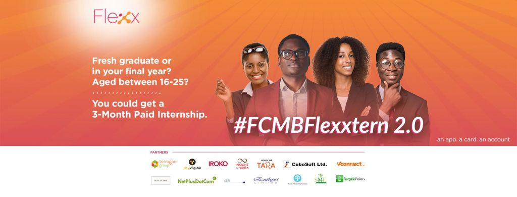 FCMB Paid Internship Program For Young Nigerians