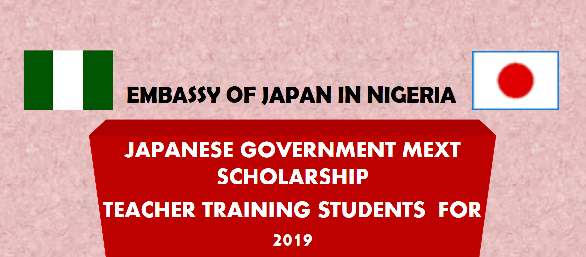 Japanese Government (MEXT) Scholarships for Nigerian Teacher Training Students