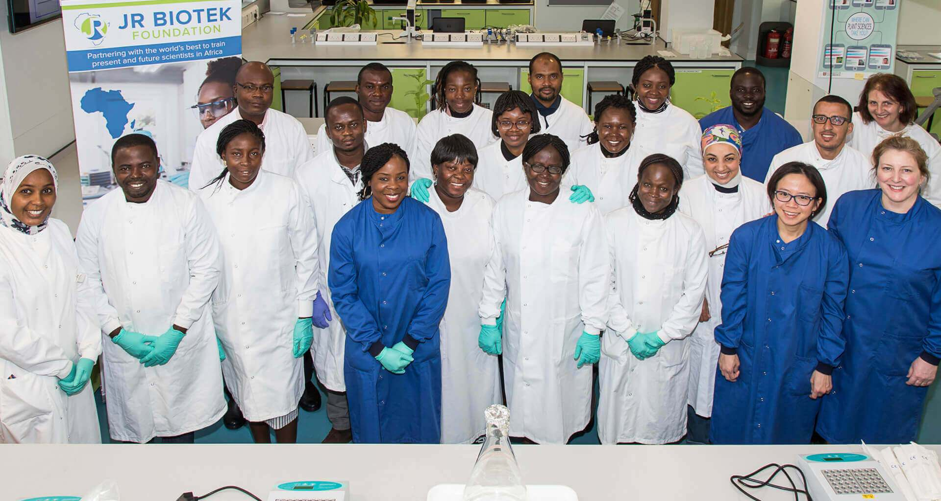 JR Biotek Foundation (JRBF) Lab Training Scholarship