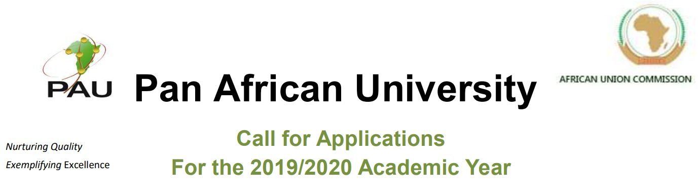 Pan African University Scholarships