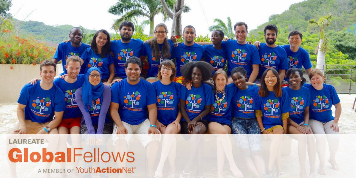 YouthActionNet's 2018 Laureate Global Fellowship
