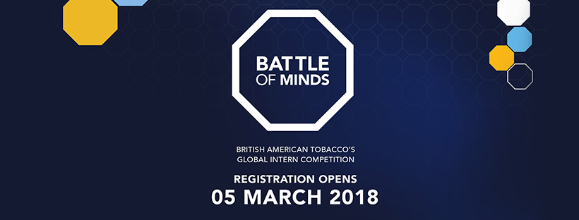 British-American Tobacco (BAT) Battle of Minds Global Intern Competition