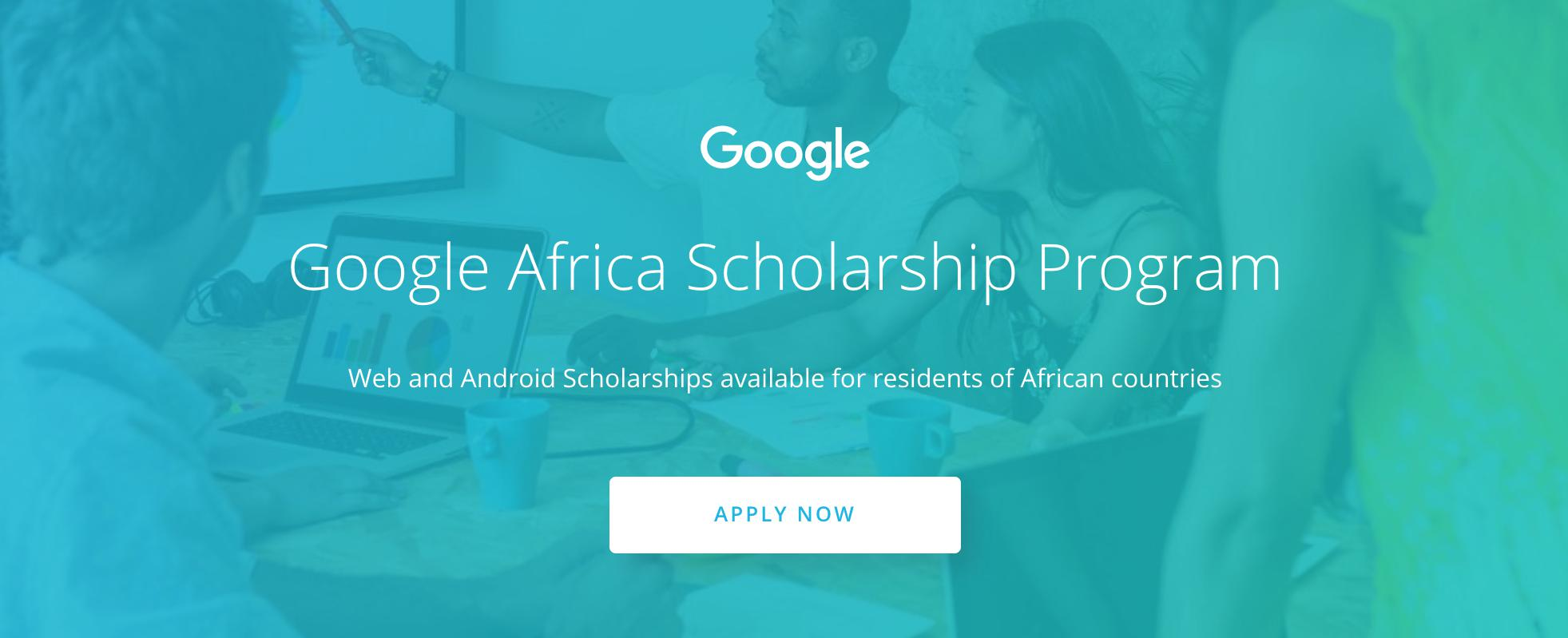 Google Africa Scholarship Program