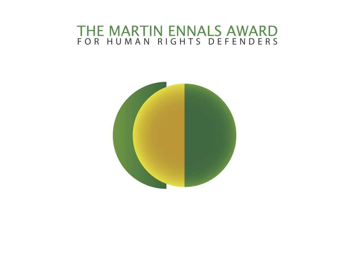 Martin Ennals Award (MEA) for Human Rights Defenders (HRD) 2019