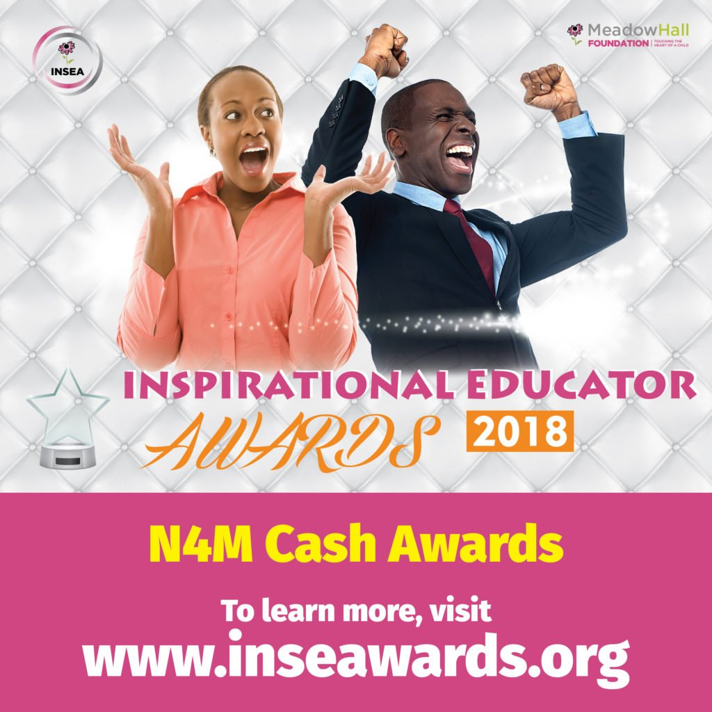 Meadow Hall Foundation 2018 INSpirational Educator Awards