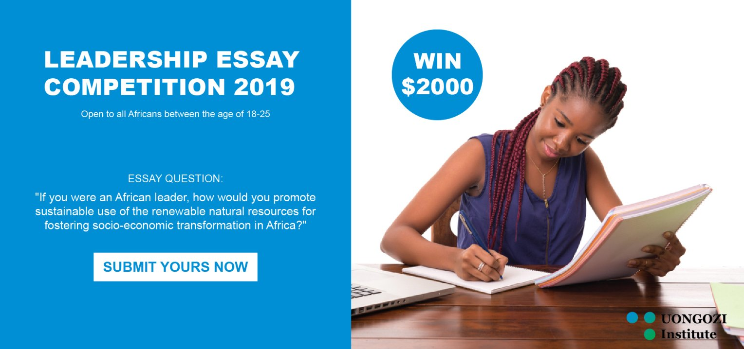 UONGOZI Institute Leadership Essay Competition