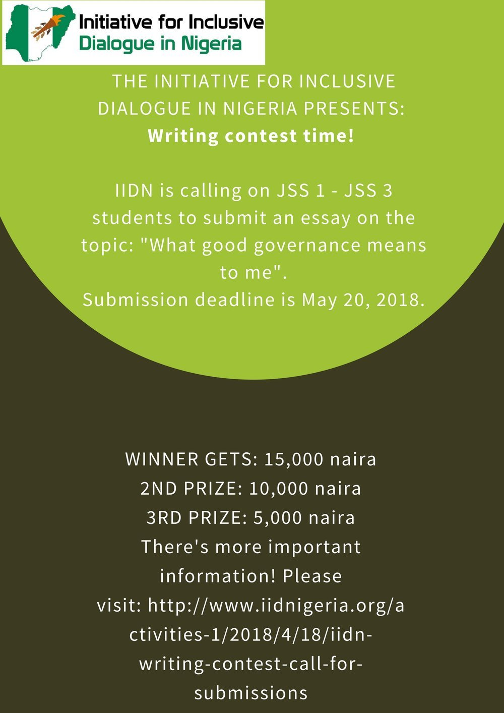 IIDN Writing Contest