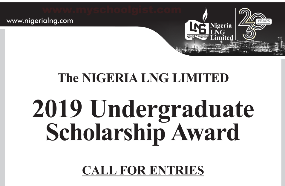 Nigeria Liquefied Natural Gas (NLNG) Undergraduate Scholarship