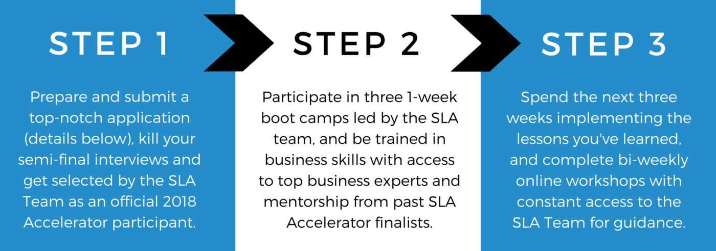 She Leads Africa (SLA) Accelerator Program - how it works 1