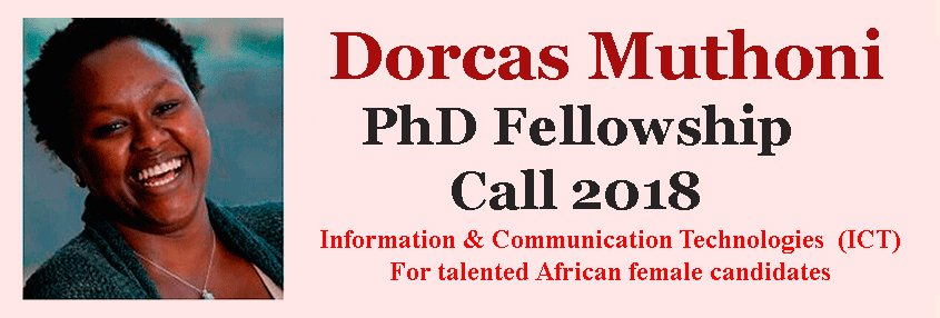Dorcas Muthoni PhD Fellowship