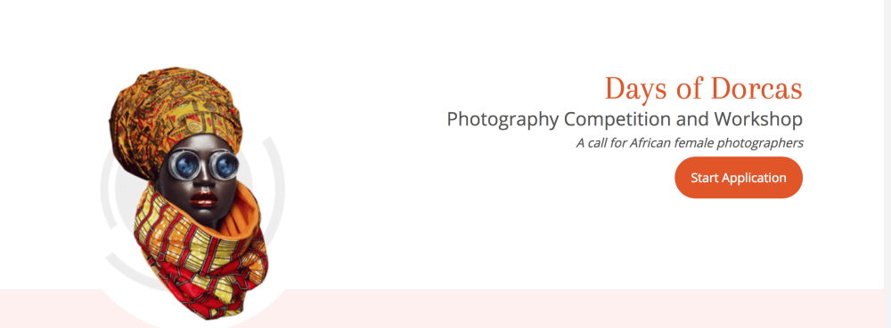 GTBank Days of Dorcas Photography Competition and Workshop 2018 for African Female Photographers