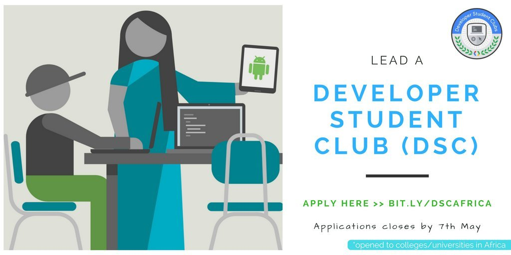 Google Developer Student Clubs (DSC)