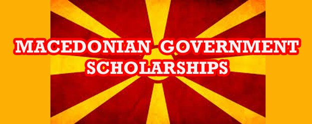 Government of the Republic of Macedonia Scholarships