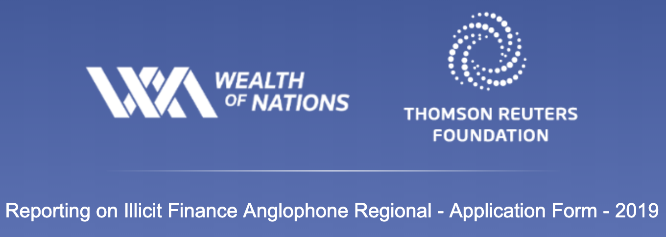 Thomson Reuters Foundation Reporting on Illicit Finance in Africa