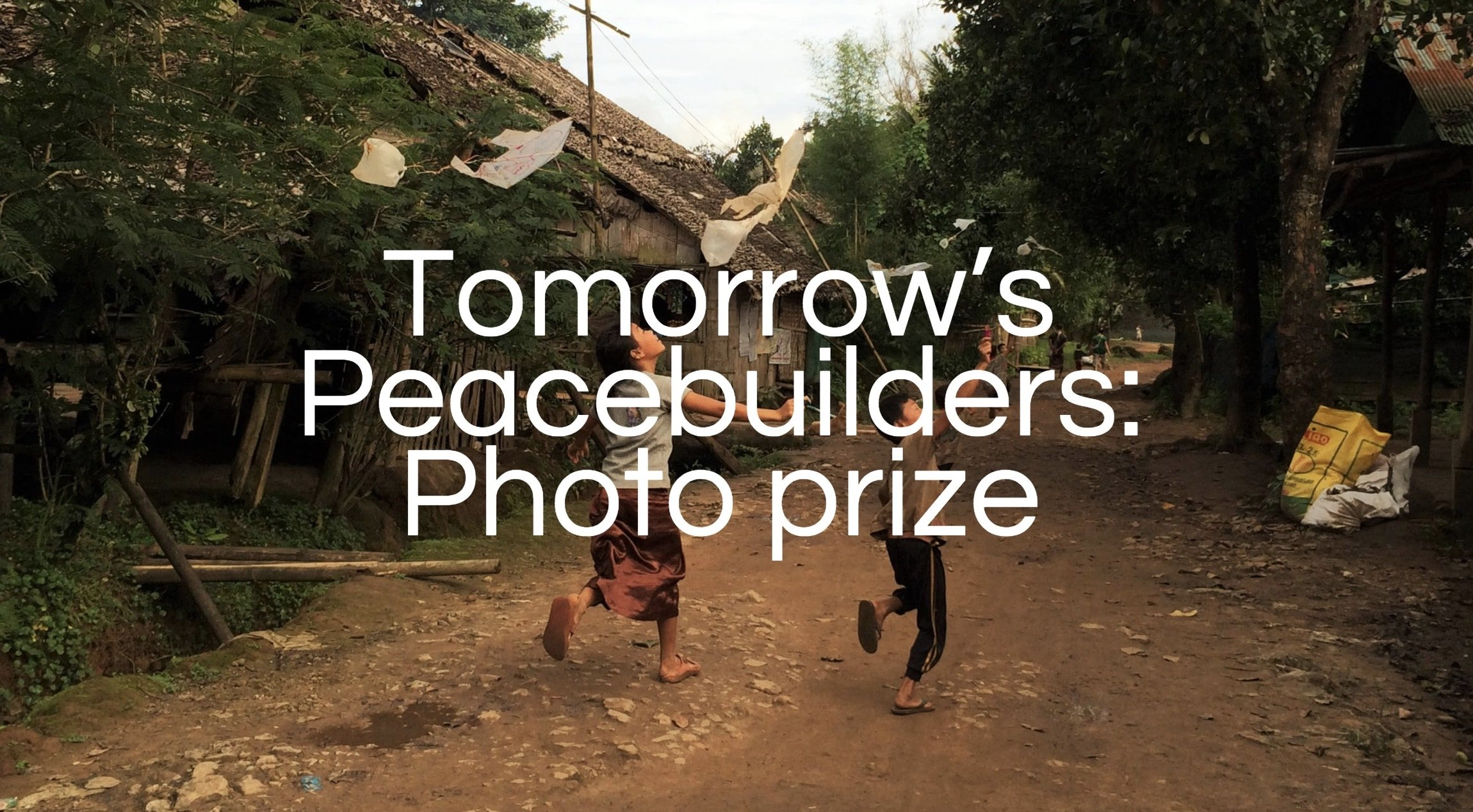 Tomorrow's Peacebuilders Photo Prize 2018