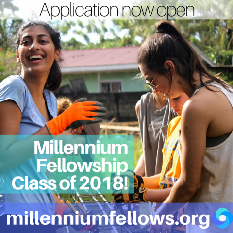 UN & MCN Millennium Fellowship 2018 for Student Leaders Worldwide