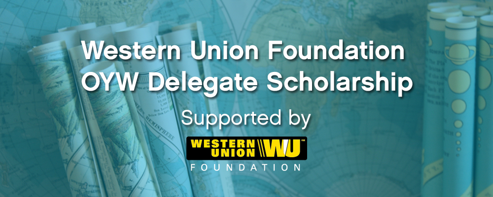 Western Union Foundation One Young World Delegate Scholarship