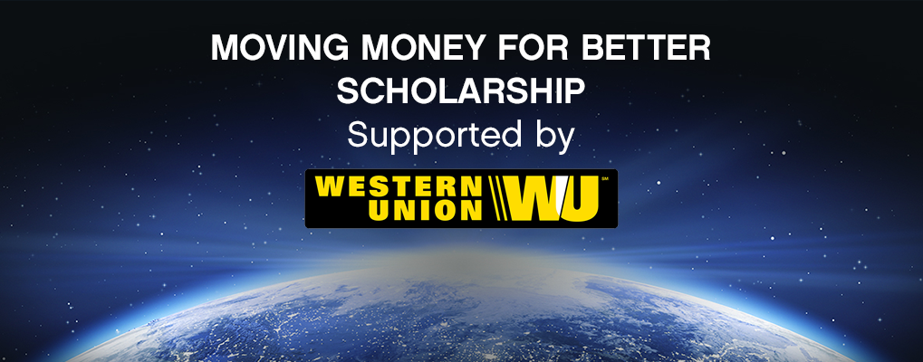Western Union Moving Money For Better Scholarship