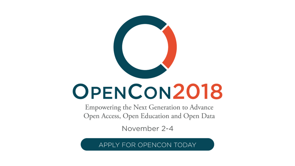 OpenCon 2018 Application Form