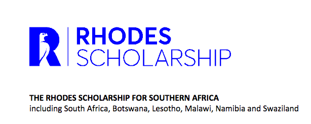 Rhodes Scholarships for Southern Africa 2018/2019