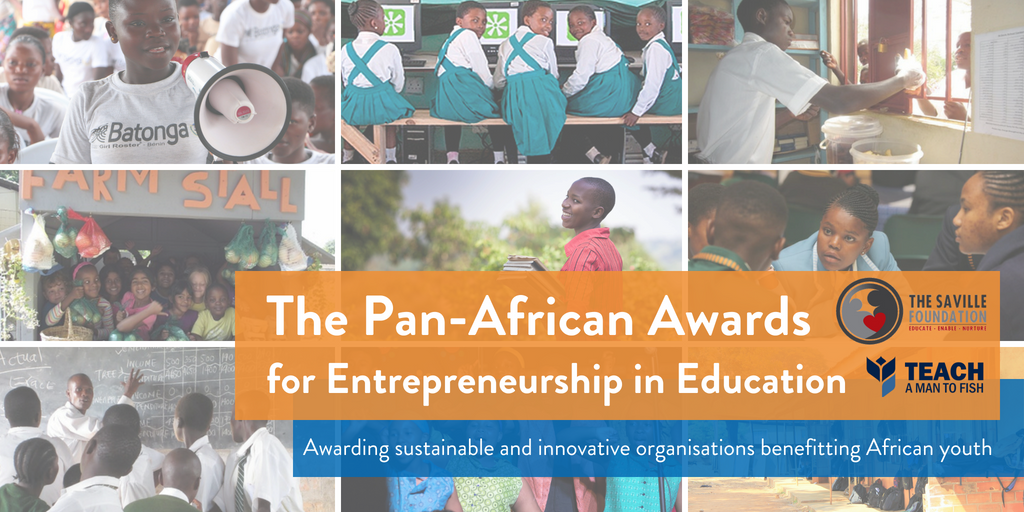 The Saville Foundation Pan-African Awards for Entrepreneurship in Education 2018