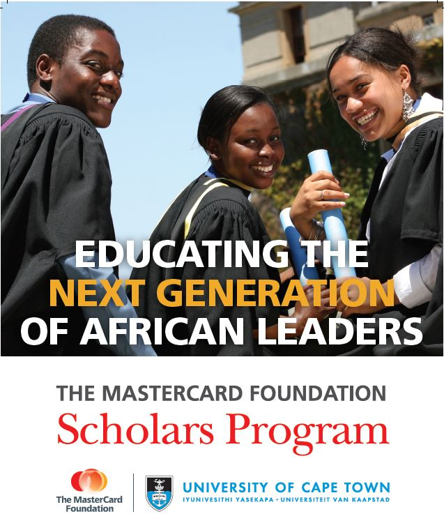 University of Cape Town (UCT) Mastercard Foundation Scholars Program