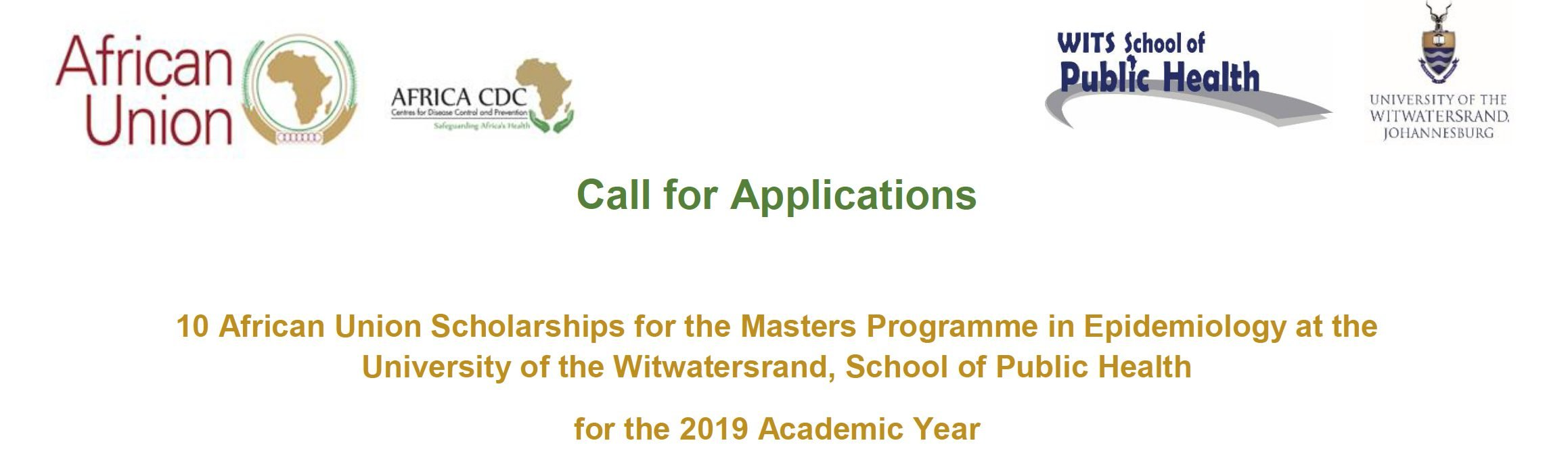 African Union MSc Scholarships