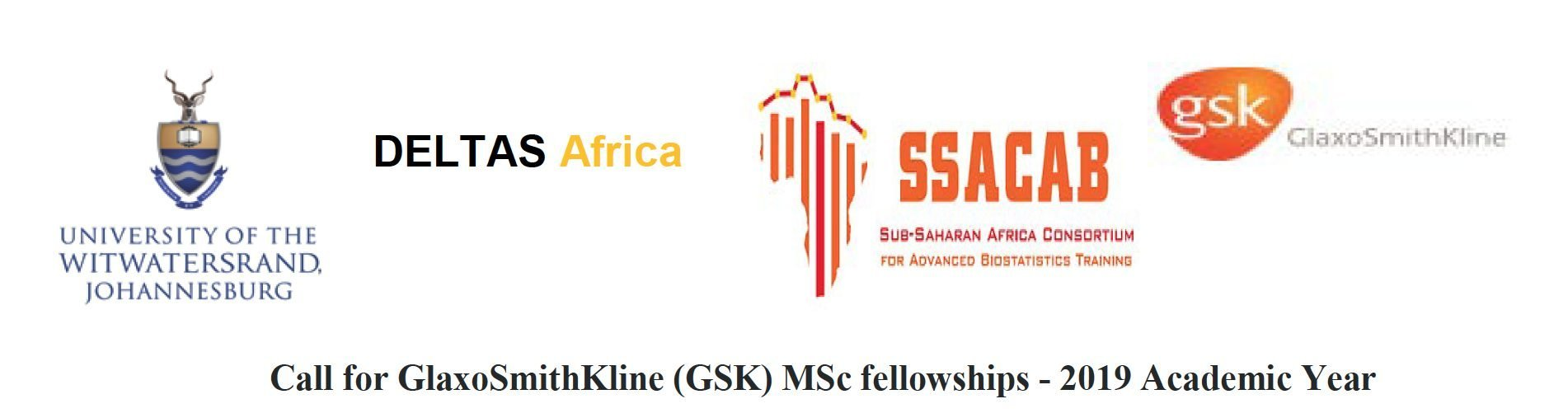 GlaxoSmithKline (GSK) MSc Fellowships