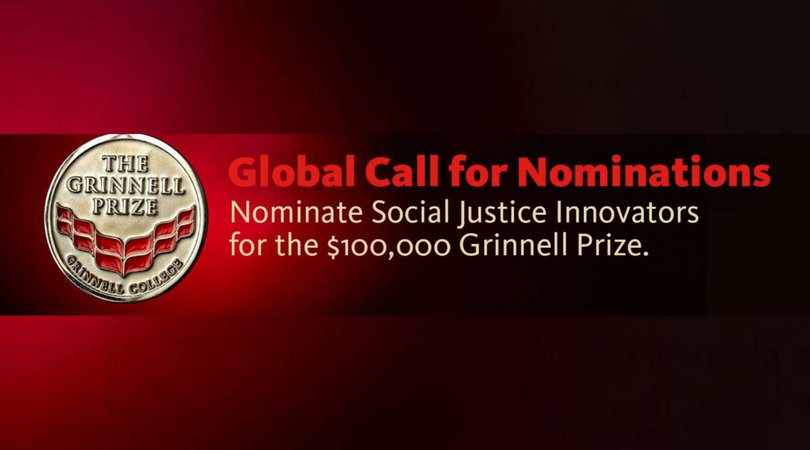 Grinnell College Innovator in Social Justice Prize