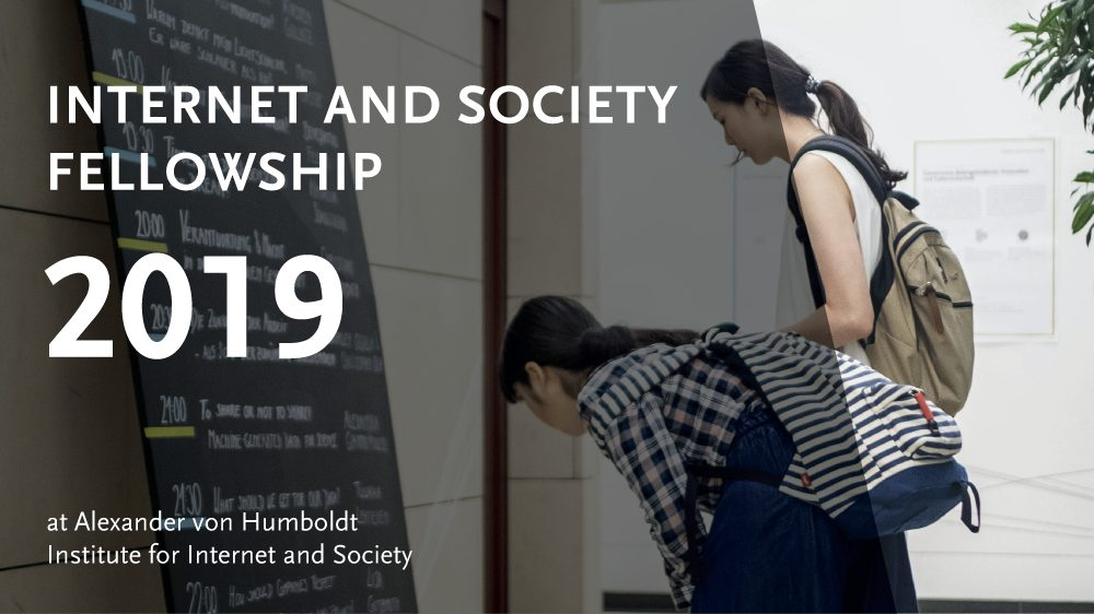 Internet and Society Fellowship