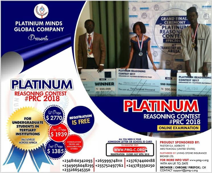 Platinum Reasoning Contest