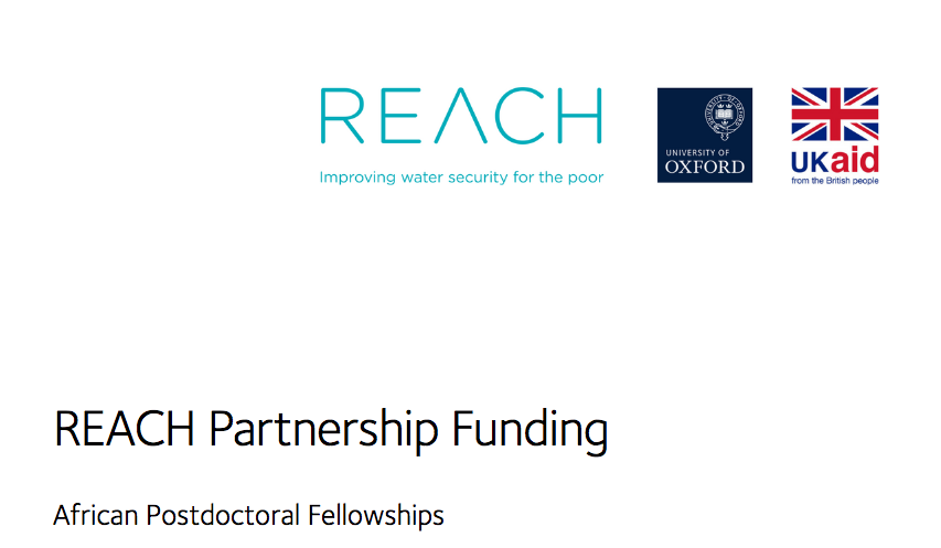 REACH African Postdoctoral Fellowship