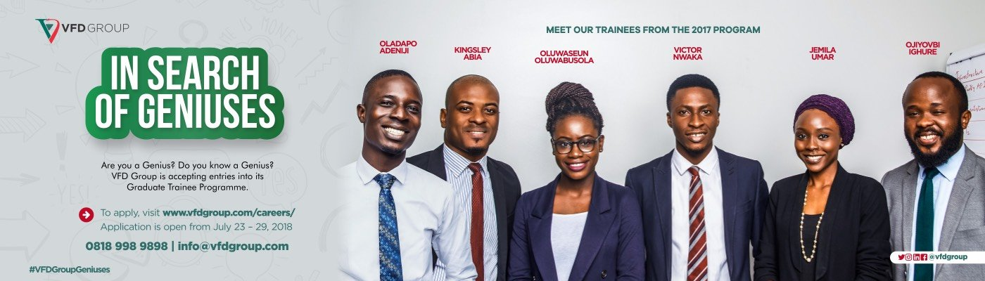 VFD Group Graduate Trainee Program