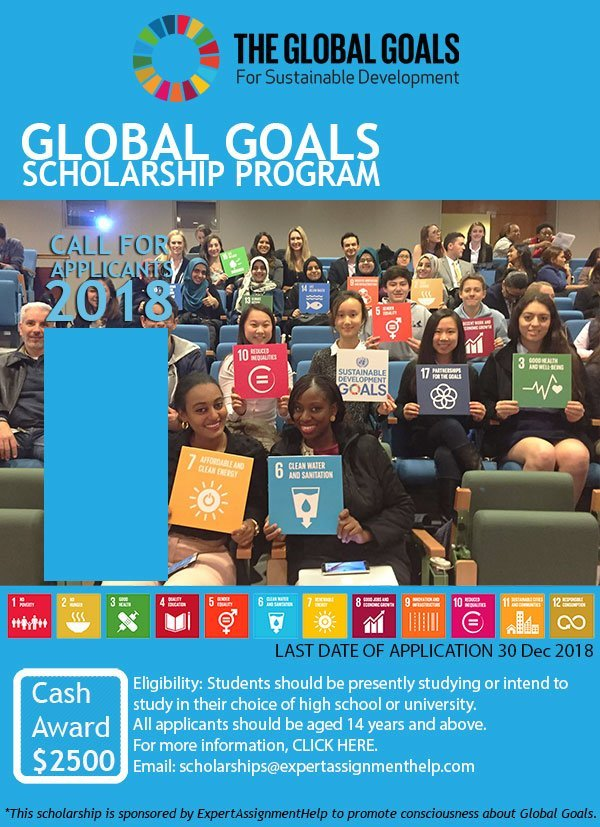 Expert Assignment Help Global Goals Scholarship Program