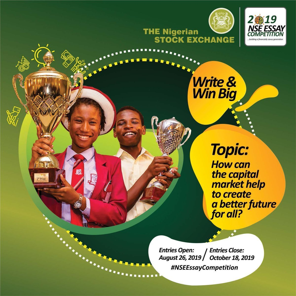 Nigerian Stock Exchange (NSE) Essay Competition 2019Nigerian Stock Exchange (NSE) Essay Competition 2019