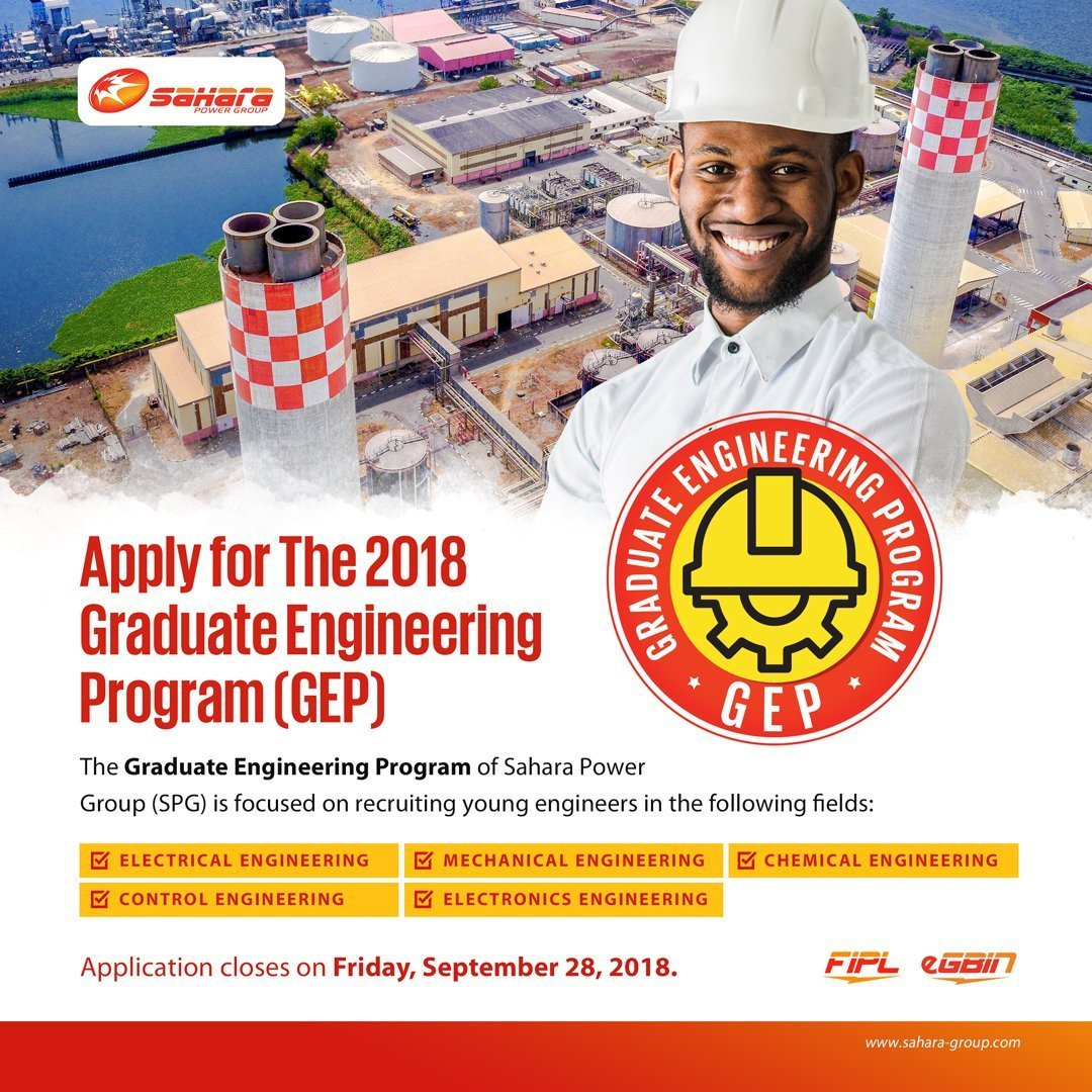 Sahara Power Group (SPG) Graduate Engineering Programme
