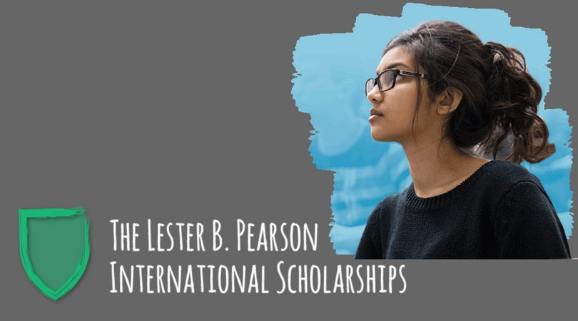 The Lester B. Pearson International Scholarships