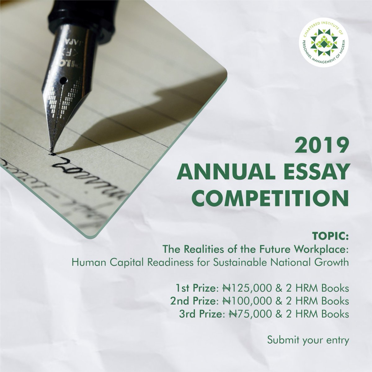 CIPM Annual Essay Competition