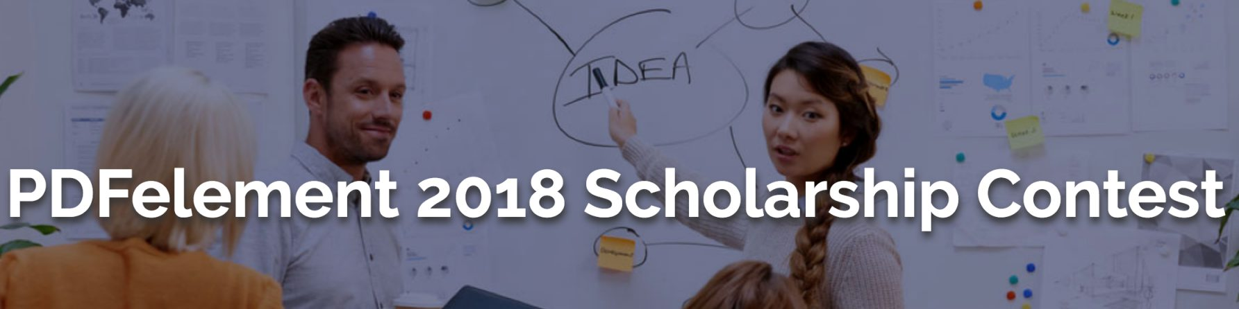 PDFelement 2018 Scholarship Contest