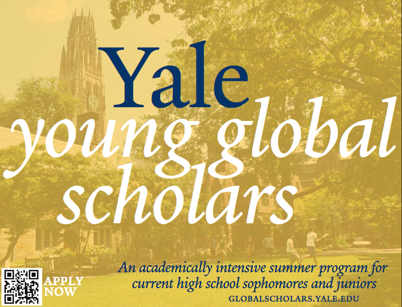Yale Young Global Scholars (YYGS) Program