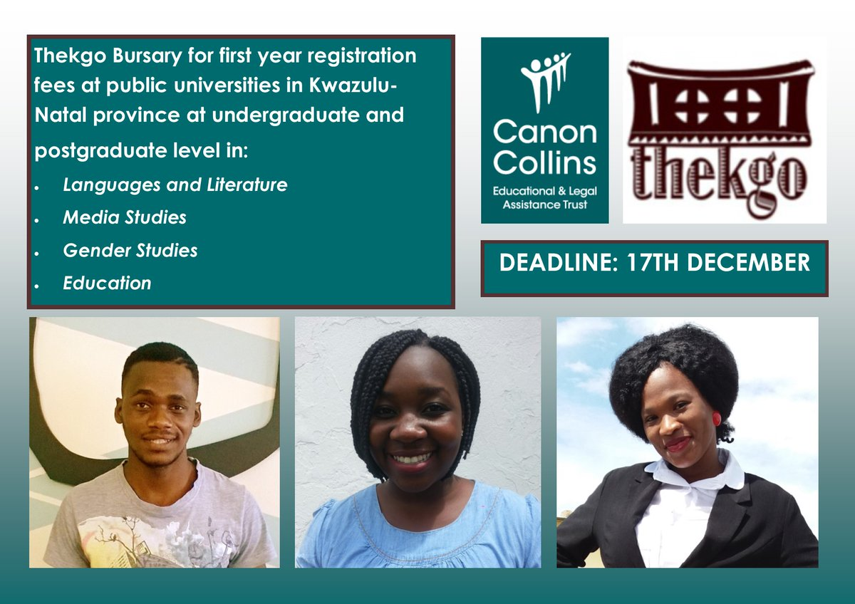 Canon Collins Thekgo Bursaries