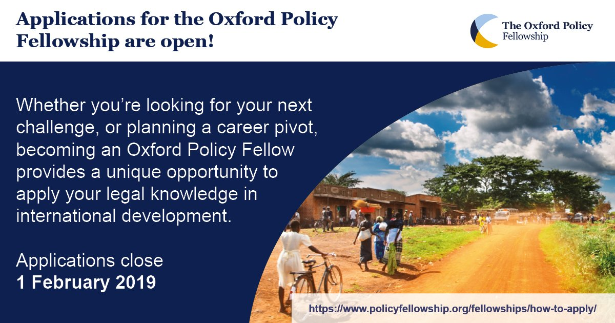 Oxford Law & Policy Fellowship