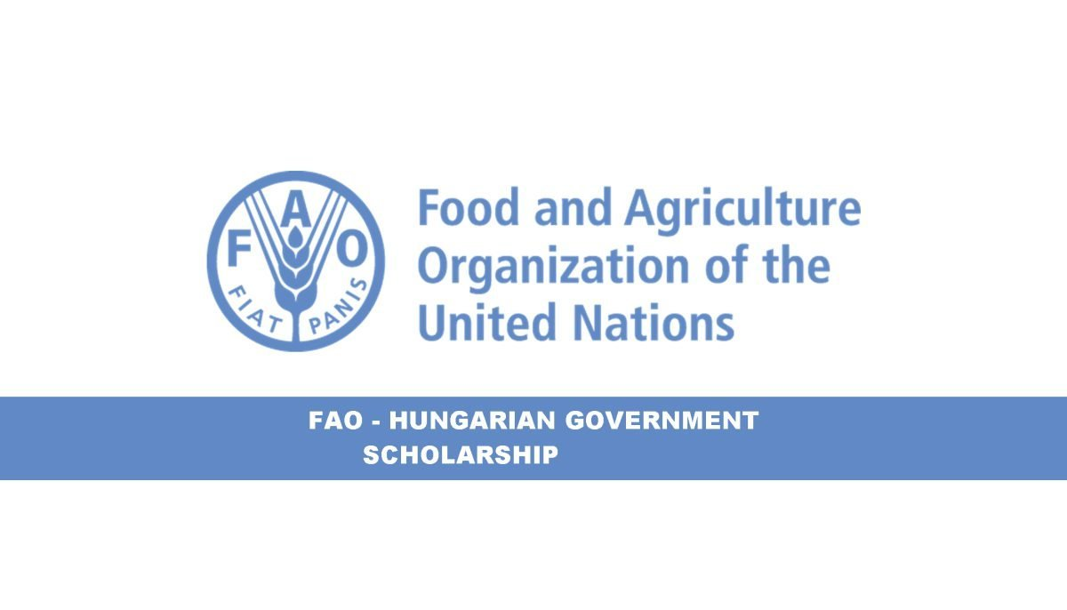 FAO-Hungarian Government Scholarship