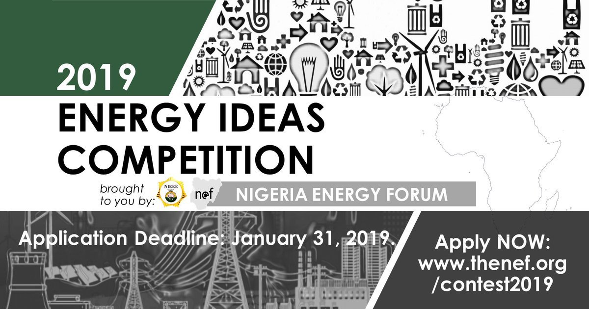 Nigeria Energy Forum (NEF) Energy Ideas Competition 2019