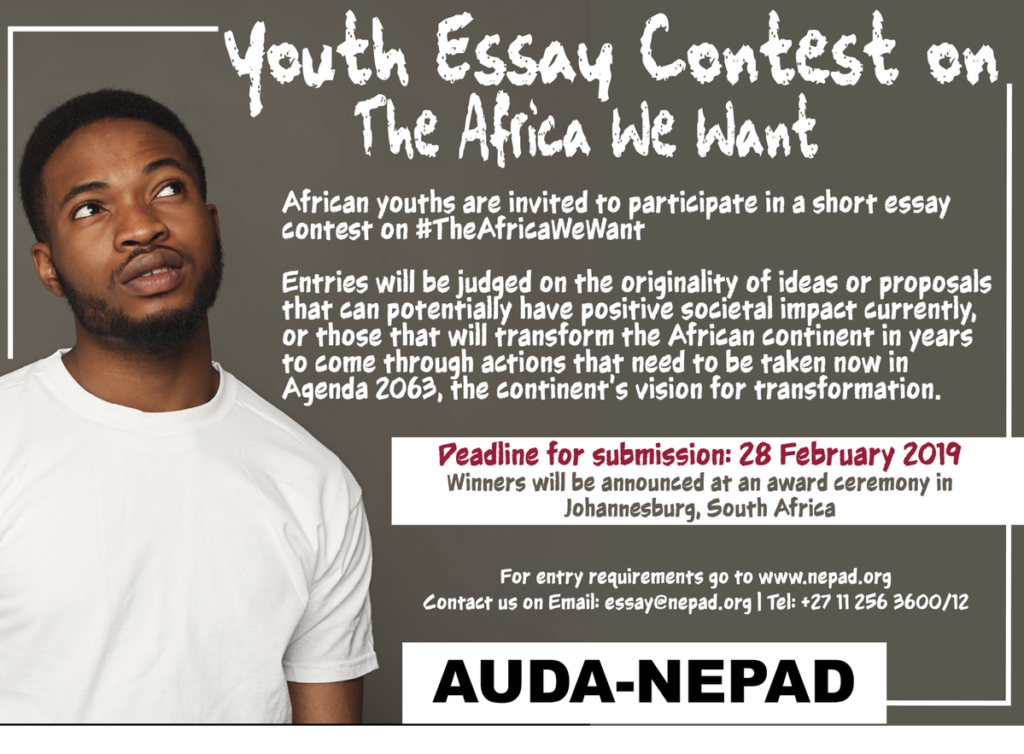 AUDA:NEPAD Youth Essay Contest