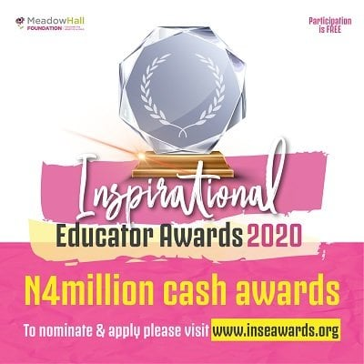 Meadow Hall Foundation 2020 INSpirational Educator Awards (INSEA