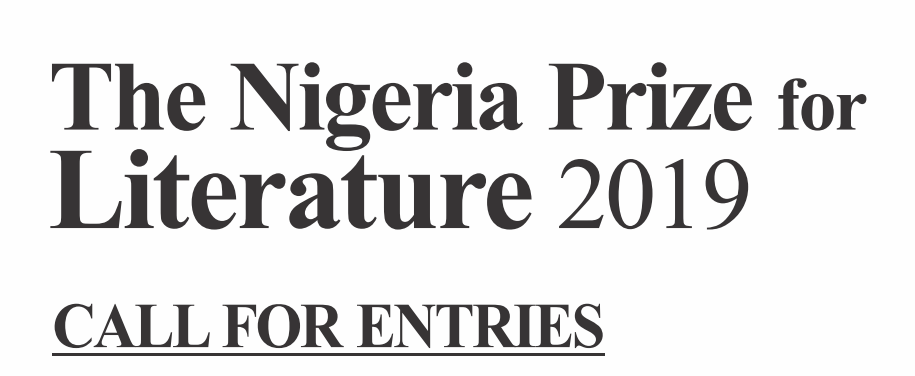 Nigeria Liquefied Natural Gas (NLNG) Prize for Literature 2019