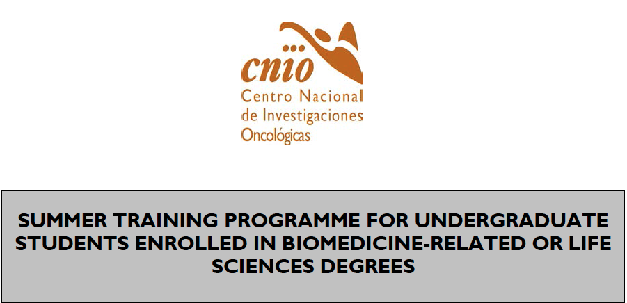 CNIO Laboratory Training Programme