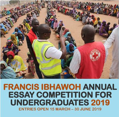 Francis Ibhawoh Essay Competition