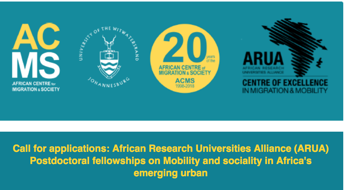 ARUA Postdoctoral Fellowships